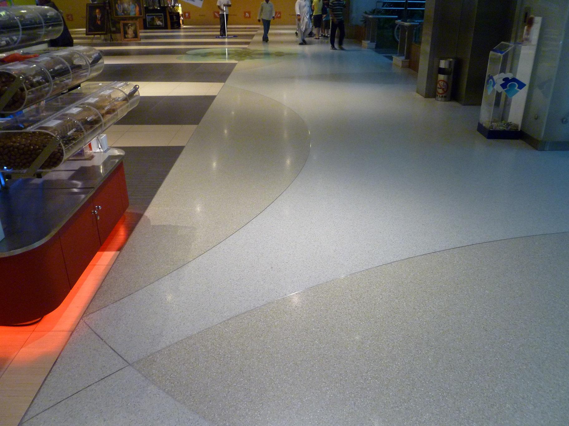 Polished Terrazzo Flooring